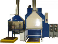JBT 500t specialist research and production press with full PLC control and PC connectivity.