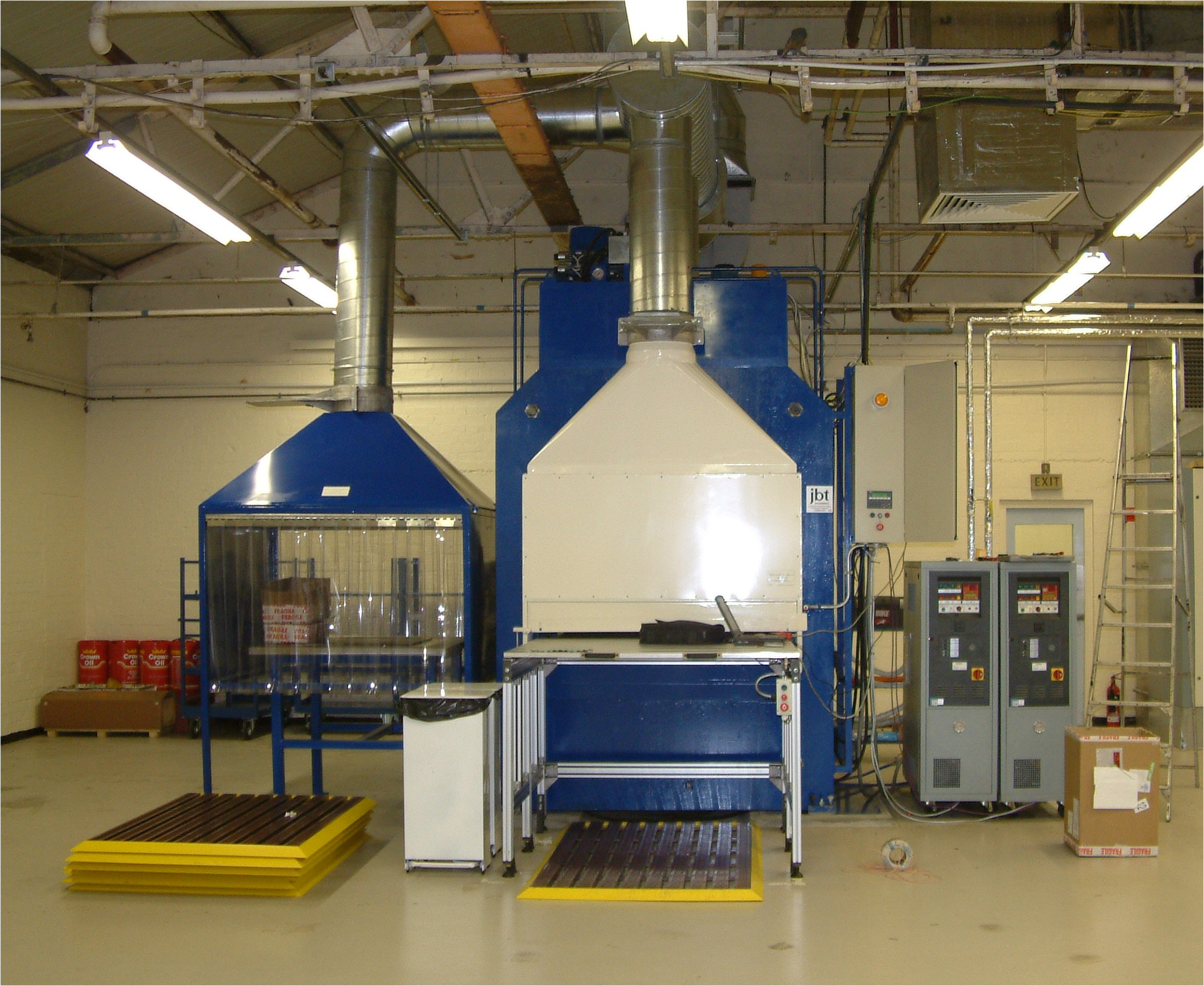 JBT Press and equipment Page - Machinery Design,Build and